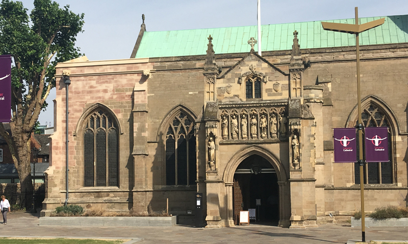 Leicester Cathedral, Stonework Replacement